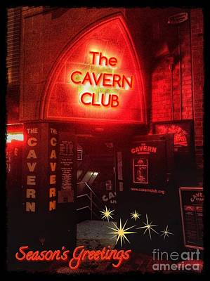 Photograph - The Cavern Club Greeting 2 by Joan-Violet Stretch