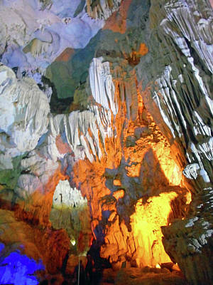 Photograph - The Caves 15 by Ron Kandt