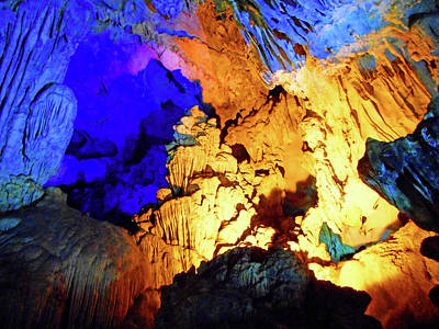 Photograph - The Caves 7 by Ron Kandt