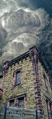 Art Print featuring the photograph The Cell Block Restaurant by Greg Reed