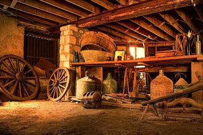 Photograph - The Cellar by Thomas Gaitley
