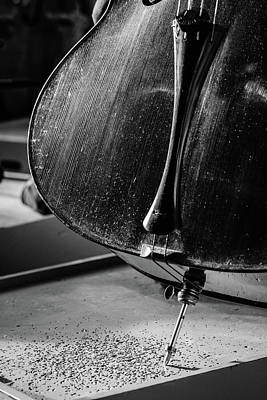 Cellists Photograph - Cello Endpin by Marco Oliveira