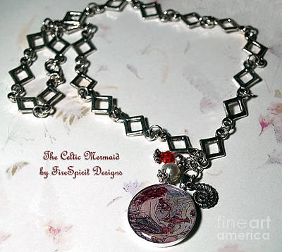 Jewelry - The Celtic Mermaid by Patricia Griffin Brett