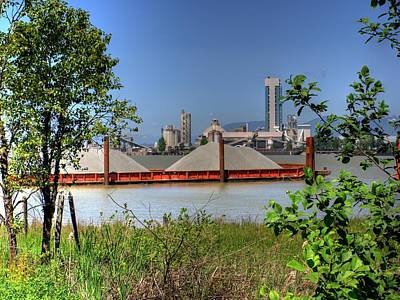 Photograph - The Cement Plant by Lawrence Christopher
