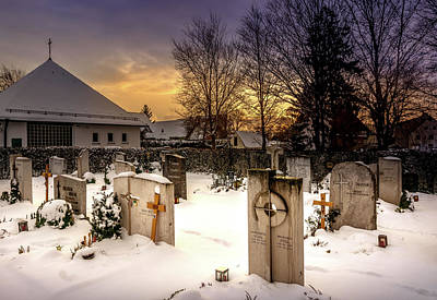Photograph - The Cemetery by Andrew Matwijec