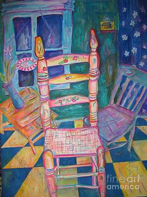 The Chair 2 Art Print by Marlene Robbins