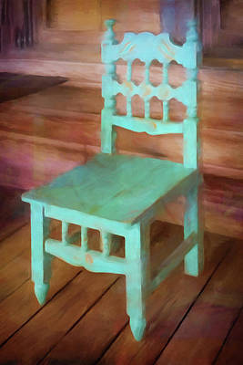 Painting - The Chair by Lutz Baar