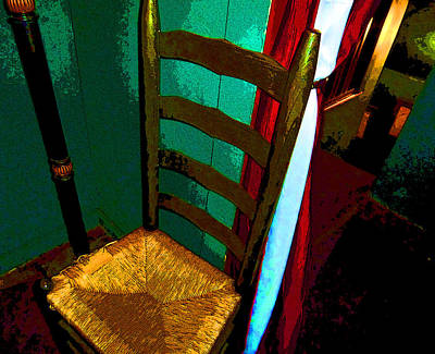 The Chair Art Print by Mindy Newman
