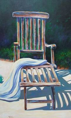 The Chair Print by Shannon Grissom