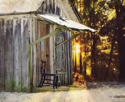 Photograph - The Chair by Stephanie Calhoun