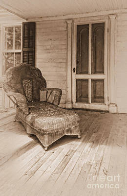 Photograph - The Chaise Lounge II by Debra Fedchin