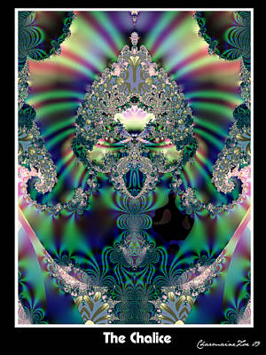 Digital Art - The Chalice by Charmaine Zoe