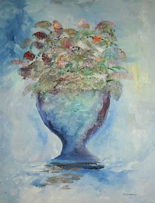 The Chalise Vase Art Print by Edward Wolverton