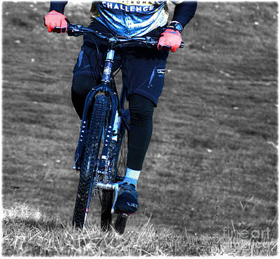 Mountain Biking Photograph - The Challenge  by Steven Digman