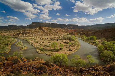 The Chama River Print by Dusty Demerson