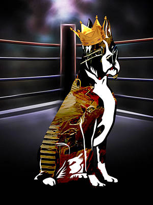 The Champ Art Print by Marvin Blaine
