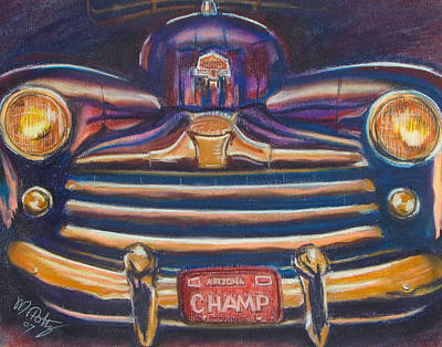 Painting - The Champ by Michael Foltz