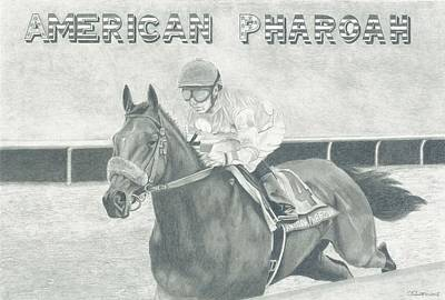 Grand Slam Drawing - The Champ by Russell Britton