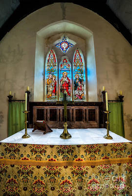 Altar Photograph - The Chancel by Adrian Evans