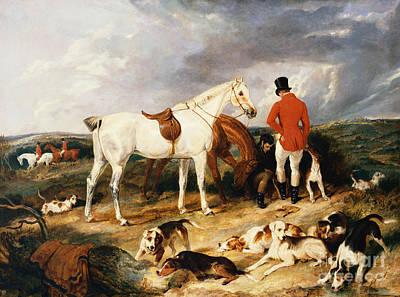 Landseer Painting - The Change, 1823 by Edwin Landseer