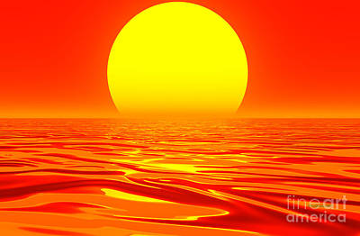 Digital Art - The Changing Of The Tides- by Robert Orinski
