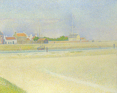 Painting - The Channel Of Gravelines, Grand Fort Philippe by Georges-Pierre Seurat
