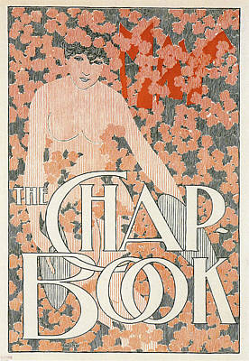 Mixed Media - The Chap Book - Magazine Cover - Vintage Art Nouveau Poster by Studio Grafiikka