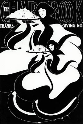 The Chapbook Thanksgiving Front Cover Art Print by American School