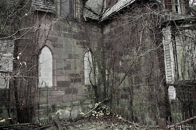 Photograph - The Chapel In Woodland Cemetery by Yuri Lev
