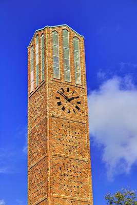 Photograph - The Chapel Of Memories Bell Tower by JC Findley