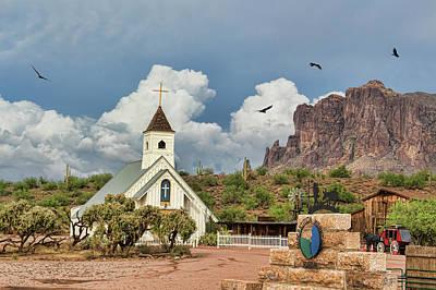 Photograph - The Chapel by Ryan Seek