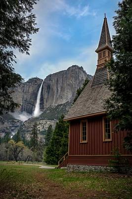 Yosemite Falls Photograph - The Chapel by Sean Foster