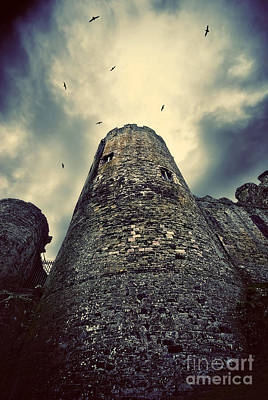 Conwy Castle Photograph - The Chapel Tower by Meirion Matthias