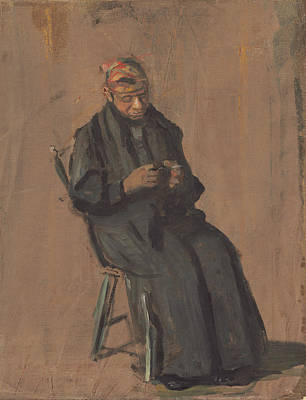 Painting - The Chaperone by Thomas Eakins