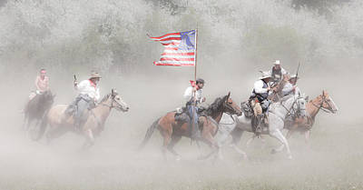 Photograph - The Charge by Athena Mckinzie