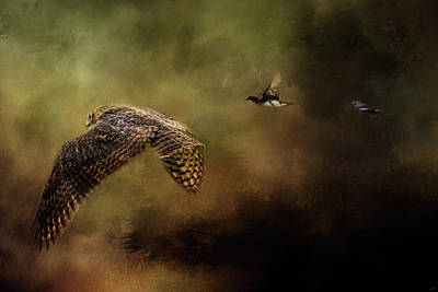 Photograph - The Chase Is On by Jai Johnson