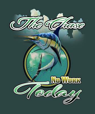 Digital Art - The Chase Logo by Peggy Novak
