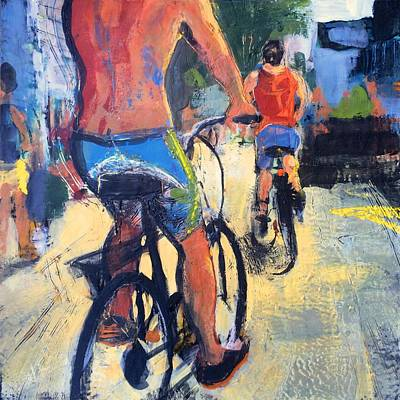 Provincetown Painting - The Chase by Marc Kundmann
