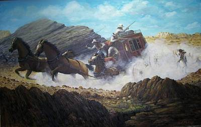 Painting - The Chase by Perrys Fine Art