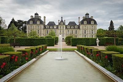 Photograph - The Chateau De Cheverny by Stephen Taylor