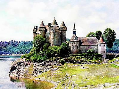 Photograph - The Chateau De Val by Joseph Hendrix