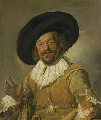 Painting - The Cheerful Drinker by Frans Hals