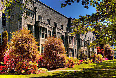 Photograph - The Chem Building At Ubc by Lawrence Christopher