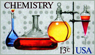 The Chemistry Centennial Stamp Art Print
