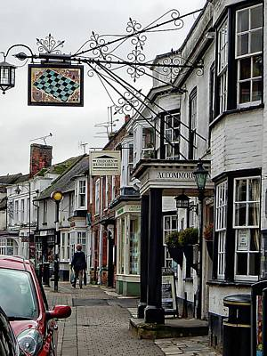 Photograph - The Chequers Steyning by Dorothy Berry-Lound
