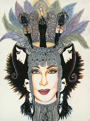 The Cher-est Painting Art Print by Joseph Lawrence Vasile