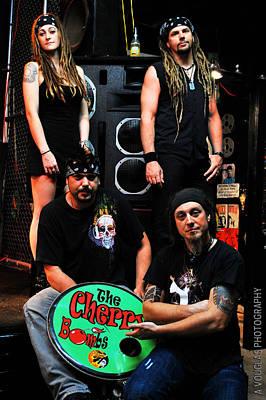 Photograph - The Cherry Bombs - Promo Photo 6 by Amanda Vouglas