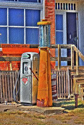 Photograph - The Chesterfield Pump by Richard J Cassato