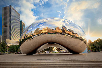 Photograph - The Chicago Bean by Emmanuel Panagiotakis