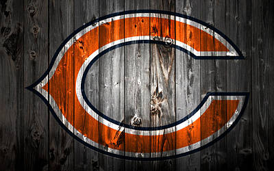 Soldier Field Mixed Media - The Chicago Bears 2a by Brian Reaves